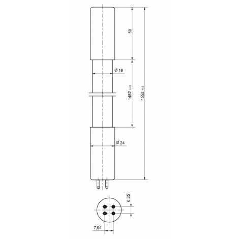 Lampe Ozone lampe NIQ 300 / 147XL